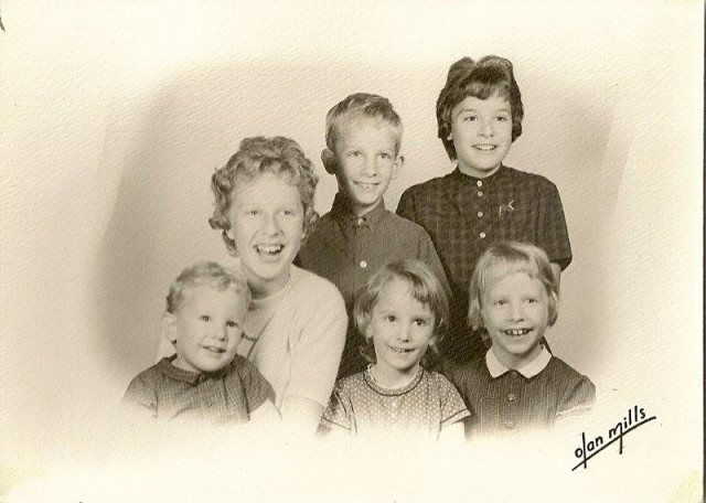 The Wright Children abt 1963 or 1964